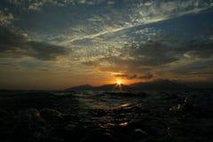 Mar Egeu Fotografia de Stock