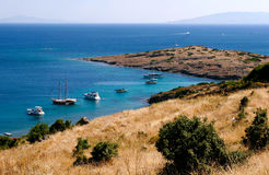 Mar Egeu em Turquia Foto de Stock Royalty Free