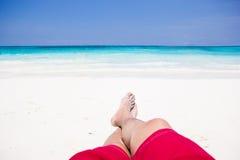 Mar el verano, un viaje Foto de archivo libre de regalías