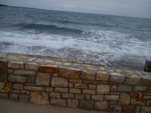 Mar em Croatia foto de stock royalty free