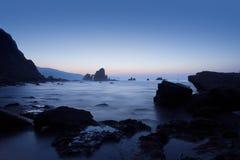 Mar em Gaztelugatxe Imagem de Stock Royalty Free