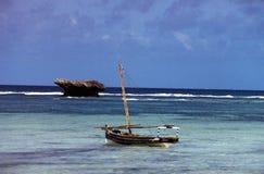 Mar em kenya Foto de Stock