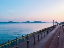 Mar em Mokpo imagem de stock