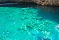 Mar em Paros foto de stock