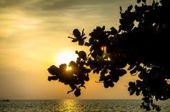 Mar em Tailândia Foto de Stock Royalty Free