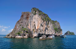Mar em Trang Imagem de Stock Royalty Free