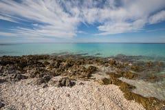 Mar en Croatia Imágenes de archivo libres de regalías