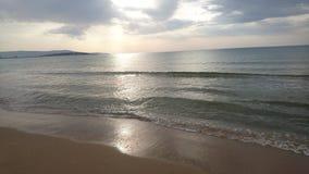 Mar en la mañana Imagenes de archivo
