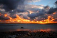 Mar en la tormenta Foto de archivo