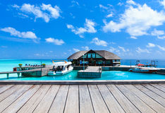 Mar en Maldivas imagen de archivo libre de regalías