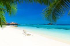 Mar en Maldivas fotos de archivo