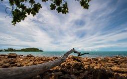 Mar en Tailandia Imagen de archivo libre de regalías