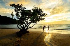Mar en Tailandia Fotografía de archivo libre de regalías