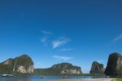 Mar en Trang Fotos de archivo