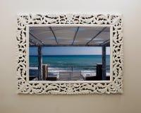Mar en un marco Fotografía de archivo