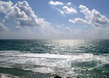 Mar en verano fotografía de archivo libre de regalías