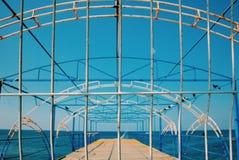 Mar encarcelado Imagenes de archivo