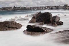 Mar espumoso Foto de Stock