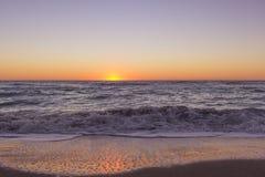 Mar espumoso imagen de archivo libre de regalías