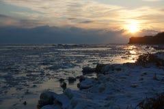 Mar frio Fotos de Stock