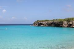 Mar grandioso da praia de Knip fotografia de stock