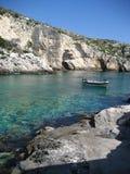 Mar grego Fotografia de Stock