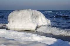 Mar helado Imágenes de archivo libres de regalías