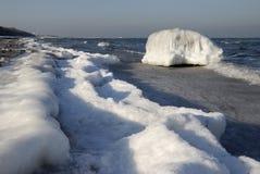 Mar helado Fotos de archivo