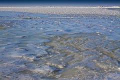 Mar helado. Imagenes de archivo