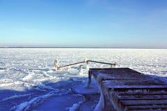 Mar helado Imagen de archivo