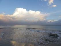Mar hermoso Foto de archivo libre de regalías