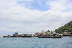 Mar hermoso en Koh Samui Fotos de archivo libres de regalías