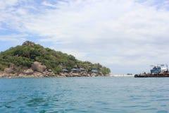 Mar hermoso en Koh Samui Imágenes de archivo libres de regalías