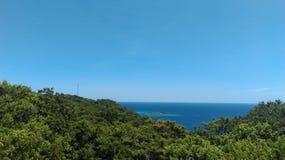 Mar hermoso en Sri Lanka imagen de archivo