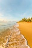 Mar hermoso por la mañana 4 Fotos de archivo libres de regalías