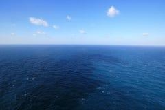 Mar horizontal Imagen de archivo libre de regalías