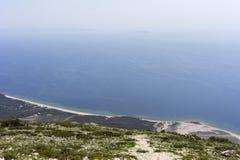 Mar iónico Fotografía de archivo libre de regalías