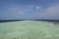 Mar indiano Fotografia de Stock