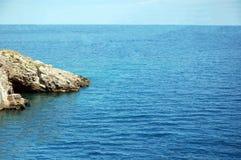 Mar infinito fotografia de stock