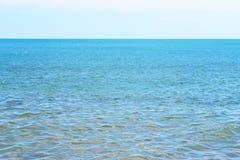 Mar infinito Foto de Stock