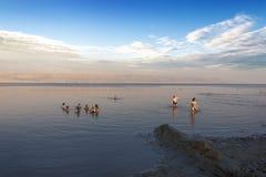 Mar inoperante, Israel Foto de Stock