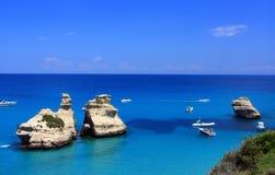 Mar italiano Imagem de Stock Royalty Free