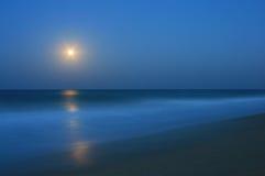 Mar lechoso azul Foto de archivo libre de regalías