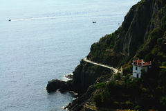 Mar Ligurian Fotos de Stock Royalty Free