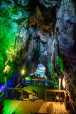 Mar Lion Cave en la costa de Oregon de Florencia imagenes de archivo
