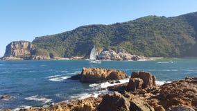 Mar litoral imagens de stock