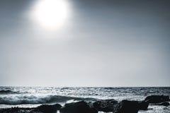 Mar lunar Fotografia de Stock