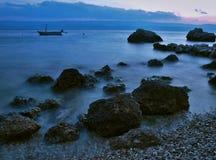 Mar mágico Fotos de archivo libres de regalías