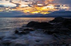 Mar místico Imagen de archivo libre de regalías