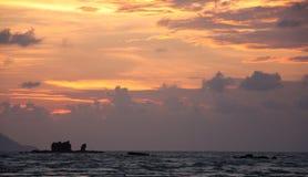Mar malasio Foto de archivo